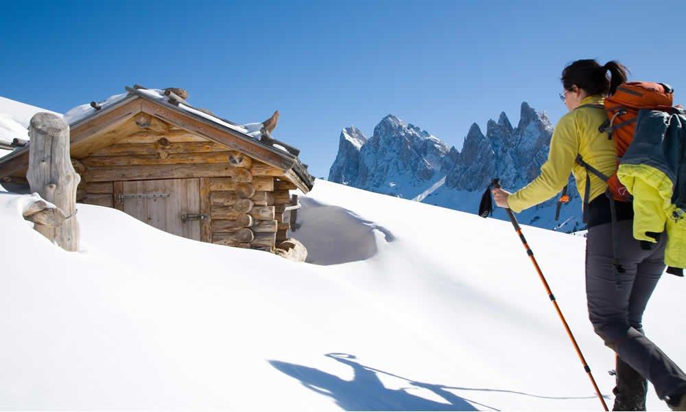 Un paradiso per gli sciatori e per i romantici
